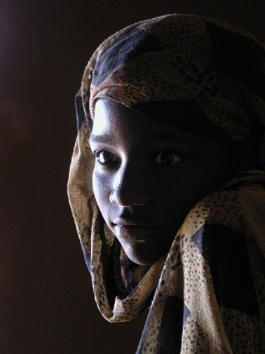 Girl from Mauritania