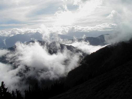 Olympia Mountains, Washington State